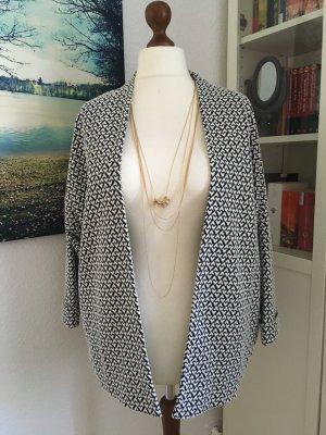 neue schwarz weiße Jacke Yessica Oversize M