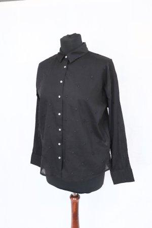 Neue schwarze besticke Bluse von Pimkie Größe 38