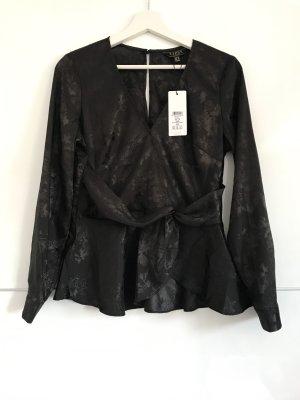 Neue, schwarze Bluse von Lipsy ASOS London 40 L