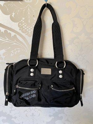 Neue schwarze Catwalk Tasche Handtasche