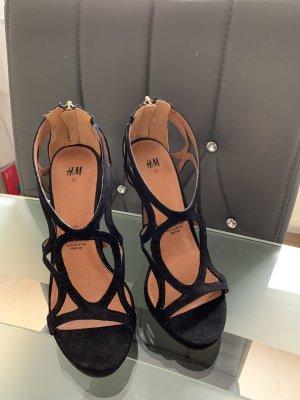 Neue Schwarze H&M High Heels