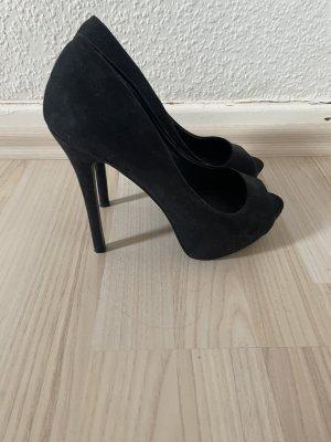 Neue schwarze High Heels Gr. 39
