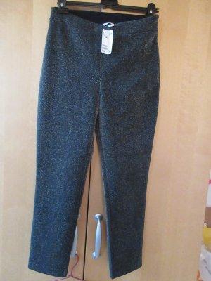 neue schwarze Hose mit Glitzer, Leggings, Party Hose mit viel Elasthan