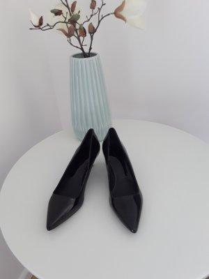 Neue Schwarze Lack Pums gr,36 von Zara