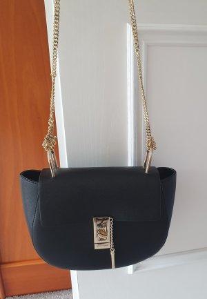 Neue schwarze Lederhandtasche - Designerstyle