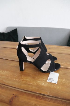 Neue schwarze Pumps High Heels von H&M Größe 38