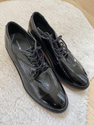 Neue schwarze Tommy Hilfiger Schuhe