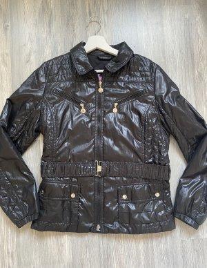 Neue schwarze Übergangsjacke von Suzanna XL 42