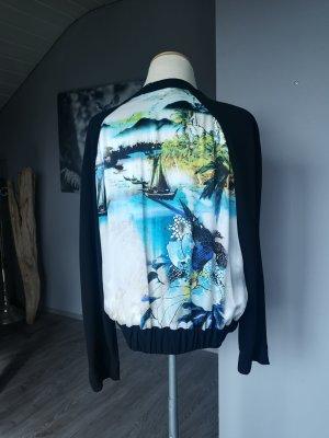 Laurèl Blouson multicolored silk