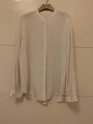 Equipment Blusa in seta crema
