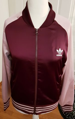 Adidas Chaqueta deportiva rosa empolvado-violeta amarronado