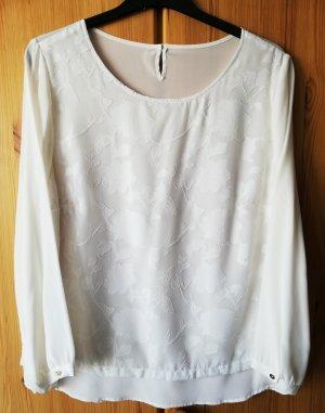 neue Shirtbluse aus Seide, lose Spitzenlage, von Peter Hahn