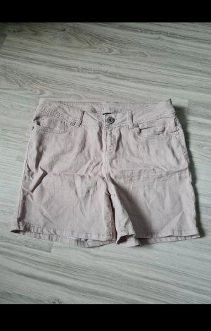 Unbekannte Marke Jeansowe szorty beżowy