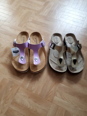 Cypres Slippers ocher-lilac