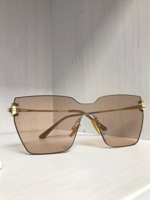 Retro Glasses gold-colored-beige
