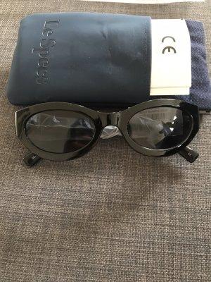 Le Specs Ovale zonnebril zwart