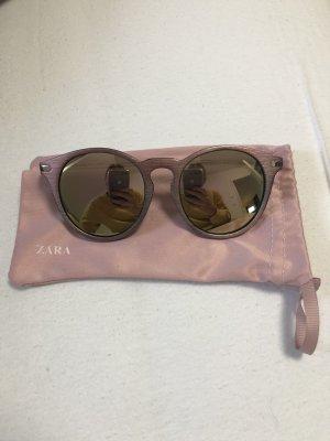 Zara Gafas de sol redondas color rosa dorado