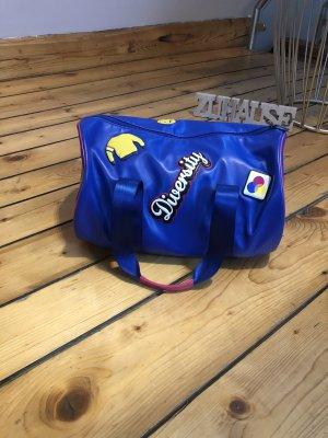 Benetton Bolsa de gimnasio azul