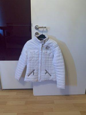 Argentina Quilted Jacket white-beige