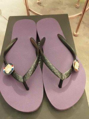 Uzurii Toe-Post sandals lilac