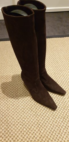 Peter Kaiser Stretch Boots bronze-colored