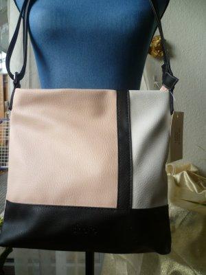 Neue superschöne modische Tasche in schwarz, rosa, weiß von Sina Jo, Offenbach,