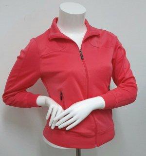 Neue Sweatjacke in pink rot Strickjacke Gr. S