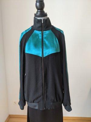 Maje Sweat Jacket black-forest green