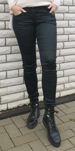 Taifun Drainpipe Trousers black