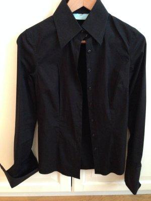 Neue, taillierte Bluse mit Stretch und Manschetten, Gr. 36