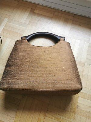 Canvas Bag bronze-colored