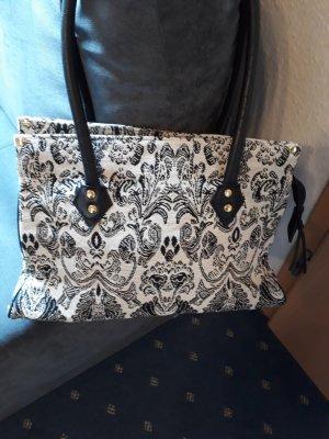 Canvas Bag black-natural white