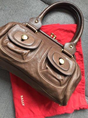 Bally Handbag brown-cognac-coloured leather