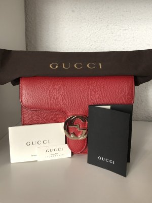 Gucci Shoulder Bag red-dark red
