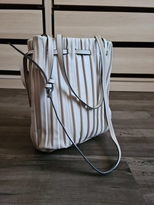 Zara Pouch Bag natural white mixture fibre