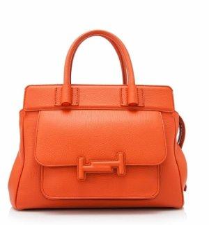 Tod's Handbag dark orange leather