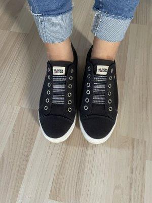 Tommy Hilfiger Zapatos sin cordones azul oscuro-blanco