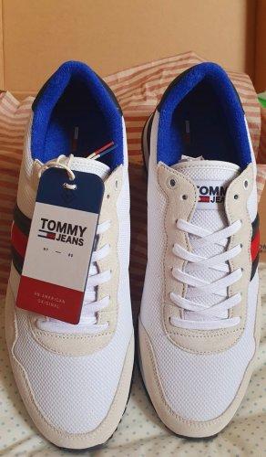 Tommy Hilfiger Basket à talon blanc
