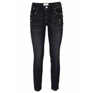 rick cardona Boyfriend Jeans black cotton