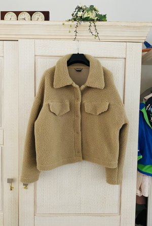 Gina Tricot Winter Jacket camel polyester