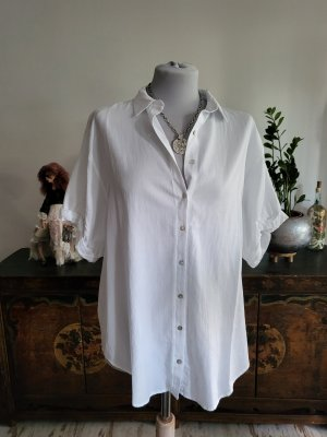 True Religion Short Sleeved Blouse white