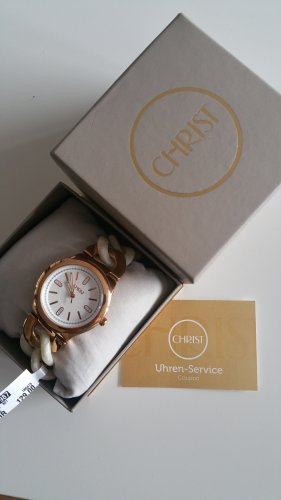 Christ Watch white-gold-colored