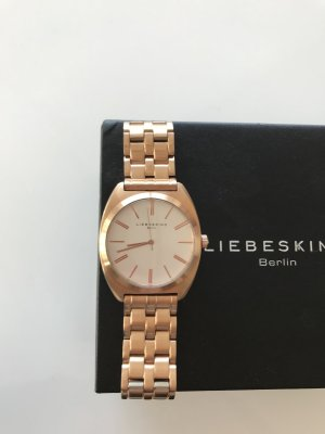Liebeskind Watch With Metal Strap white-sand brown