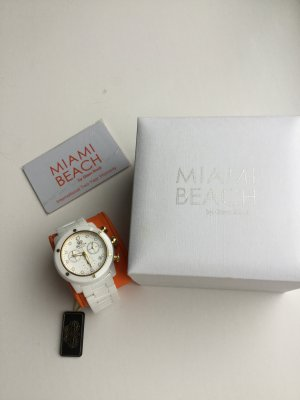 Miami Self-Winding Watch white-gold-colored