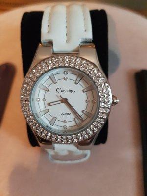 neue Uhr mit 2 Wechselarmbändern