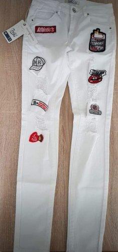 Neue und ungetragene weiße Hose in Größe 36