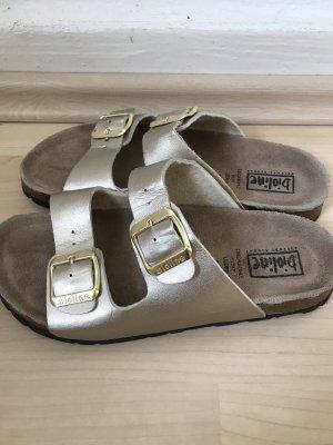 bioline Comfort Sandals gold-colored