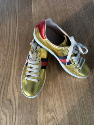 Gucci Lace-Up Sneaker multicolored leather