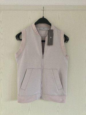 Adidas by Stella McCartney Smanicato sport rosa antico-rosa pallido