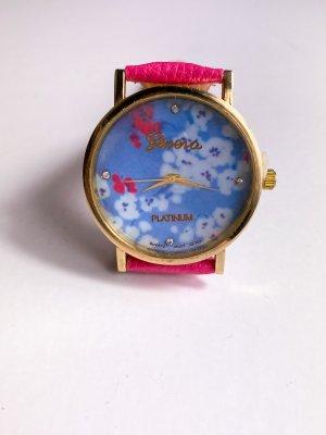 Orologio analogico multicolore